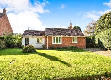 Thumbnail 2 bed detached bungalow for sale in Church Road, Colkirk, Fakenham