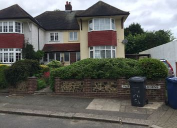 Thumbnail 4 bed semi-detached house to rent in Park View Gardens, Hendon
