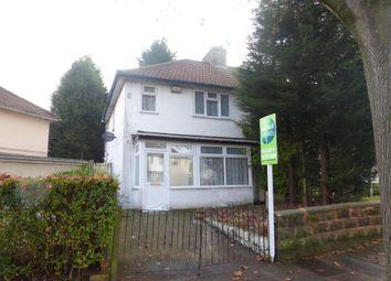 Thumbnail 2 bedroom semi-detached house for sale in Farley Road, Erdington, Birmingham