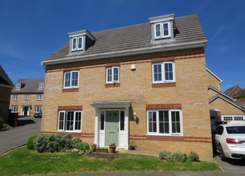 Thumbnail 5 bed detached house for sale in Haydock Close, Corby