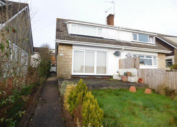 Thumbnail 3 bed semi-detached house to rent in Eastfield Close, Caerleon, Newport