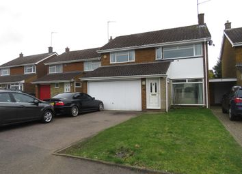 Thumbnail 4 bed detached house for sale in Foxbury Close, Luton