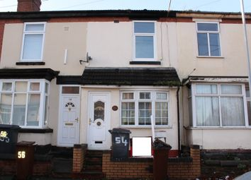 Thumbnail 2 bed terraced house for sale in Norfolk Road, Wolverhampton