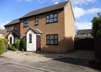 Thumbnail 2 bed semi-detached house to rent in Anglers Close, March