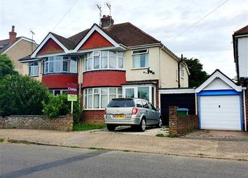 Thumbnail 3 bedroom semi-detached house to rent in Greencourt Drive, Bognor Regis