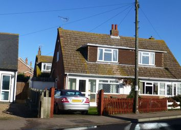 Thumbnail 3 bed semi-detached house for sale in Faversham Road, Seasalter, Whitstable