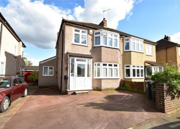 Thumbnail 3 bed semi-detached house for sale in Wentworth Drive, West Dartford, Kent