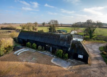 Thumbnail 5 bed barn conversion for sale in Farley Green, Newmarket