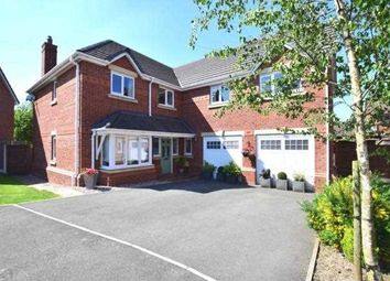 Thumbnail 5 bed detached house for sale in Springside Gardens, Whittle Le Woods, Chorley