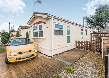 Thumbnail 1 bedroom mobile/park home for sale in Lea Park Home Estate, Church Road, Boston, Lincolnshire