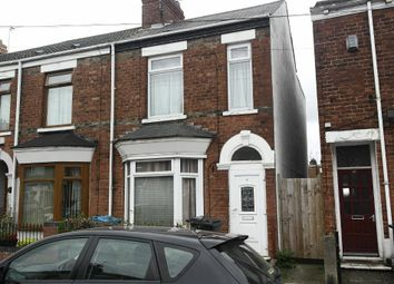 Thumbnail 3 bedroom end terrace house for sale in Worthing Street, Hull