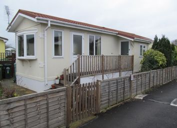 Thumbnail 2 bed mobile/park home for sale in Bramley Avenue, Grange Farm Estate, Upper Halliford, Shepperton, Middlesex
