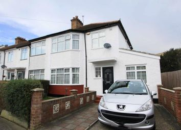 Thumbnail 4 bed end terrace house for sale in Central Road, Wembley, Middlesex