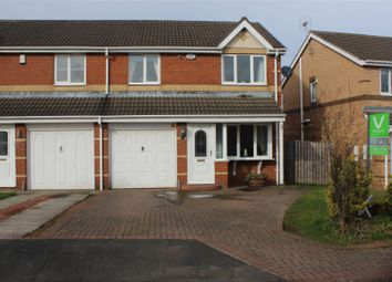 Thumbnail 3 bedroom property for sale in Middlehope Grove, Bishop Auckland