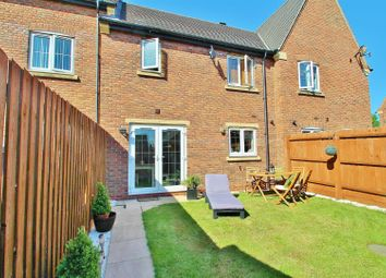 Thumbnail 2 bed terraced house to rent in Exton Close, Syston, Leicestershire