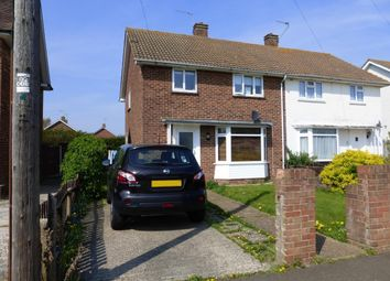 Thumbnail 3 bedroom semi-detached house to rent in Marlborough Road, Goring-By-Sea, Worthing
