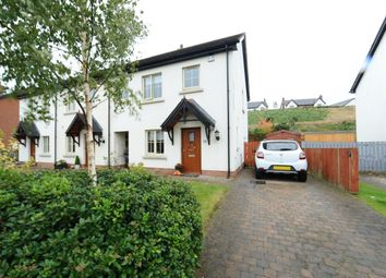 Thumbnail 3 bedroom terraced house for sale in Coopers Mill Avenue, Dundonald, Belfast