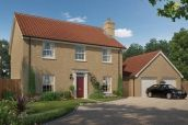 Thumbnail 4 bed detached house for sale in Long Lane, Mulbarton