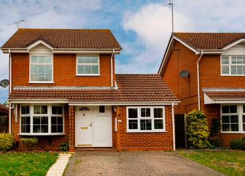 Thumbnail 3 bed detached house for sale in Wimblington Drive, Lower Earley, Reading