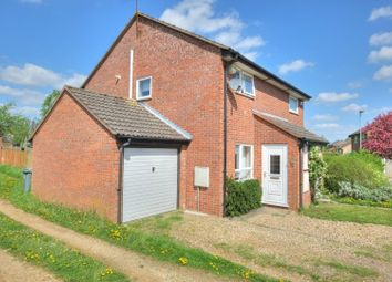Thumbnail 2 bed semi-detached house for sale in Greenacre Close, Norwich