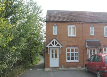 Thumbnail 2 bed end terrace house to rent in Garrington Road, Aston Fields, Bromsgrove