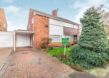 Thumbnail 3 bedroom semi-detached house for sale in Wanderers Avenue, Wolverhampton, West Midlands