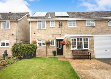 Thumbnail 3 bed semi-detached house for sale in Wren Close, Mildenhall, Bury St. Edmunds