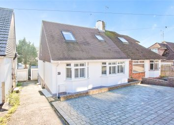 Thumbnail 4 bed semi-detached house for sale in Dale Crescent, Brighton, East Sussex