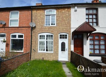 Thumbnail 3 bed terraced house for sale in Reservoir Road, Selly Oak, Birmingham, West Midlands.
