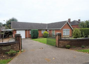 Thumbnail 3 bed detached bungalow for sale in Red Hall Lane, Bracebridge Heath