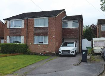Thumbnail 3 bed semi-detached house for sale in Wayfield Close, Shirley, Solihull, West Midlands