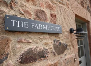 Thumbnail 4 bed terraced house to rent in The Farmhouse, Fenton Brunt Steading, Innerwick, By Dunbar