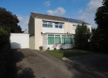 Thumbnail 3 bed semi-detached house for sale in Beach Road, Carlyon Bay, St. Austell
