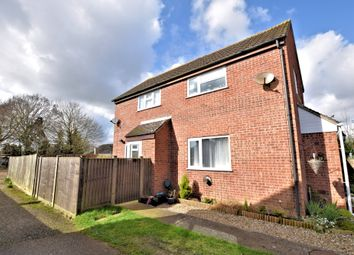 Thumbnail 1 bed end terrace house to rent in Abbot Close, Wymondham