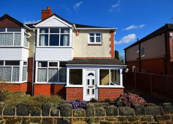 Thumbnail 3 bed semi-detached house for sale in Kingston Avenue, Stoke-On-Trent