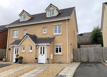 Thumbnail 3 bed semi-detached house for sale in Oak Hill Way, Pontardawe, Swansea