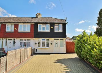 Thumbnail 3 bedroom end terrace house for sale in Vincent Avenue, Surbiton, Surrey