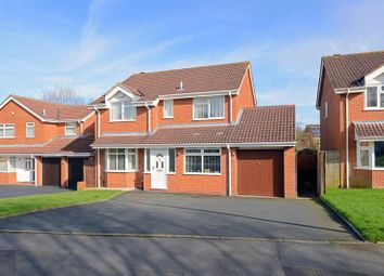 Thumbnail 5 bed detached house for sale in Mellor Close, Madeley, Telford, Shropshire.