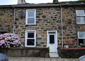 Thumbnail 3 bed terraced house for sale in Dublin Street, Tremadog, Porthmadog, North Wales