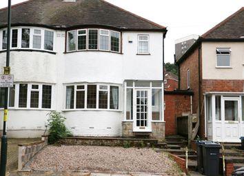 Thumbnail 3 bed semi-detached house for sale in Marsham Road, Kings Heath, Birmingham
