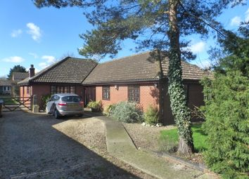 Thumbnail 4 bed detached bungalow for sale in New North Road, Attleborough