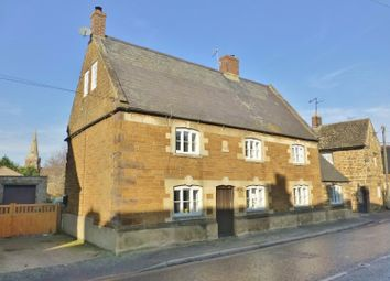 Thumbnail 4 bed cottage for sale in Main Street, Caldecott, Market Harborough
