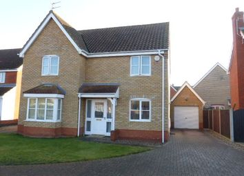 Thumbnail 4 bed detached house to rent in Seafields Drive, Hopton, Great Yarmouth
