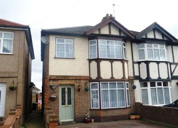 Thumbnail 3 bed terraced house to rent in Cherry Tree Lane, Rainham, Essex