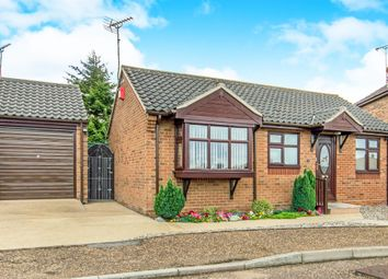 Thumbnail 2 bed detached bungalow for sale in Pedlars Croft, Hemsby, Great Yarmouth