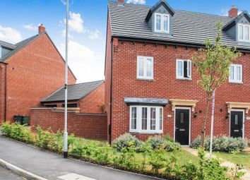 Thumbnail 4 bed semi-detached house for sale in Middle Green, Rothley, Leicester