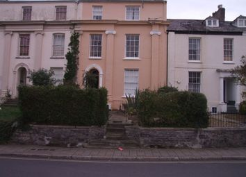 Thumbnail 1 bed flat to rent in One Bedroom First Floor Flat, Newport Terrace, Barnstaple