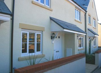 Thumbnail 2 bedroom terraced house to rent in Carhaix Way, Dawlish