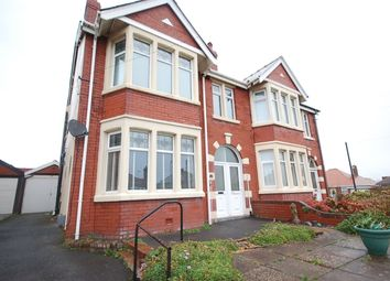 Thumbnail 1 bed flat to rent in Pembroke Avenue, Bispham, Blackpool