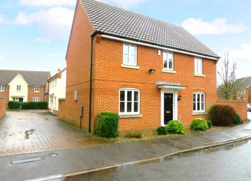 Thumbnail 4 bed detached house to rent in Victor Charles Close, Weeting, Brandon